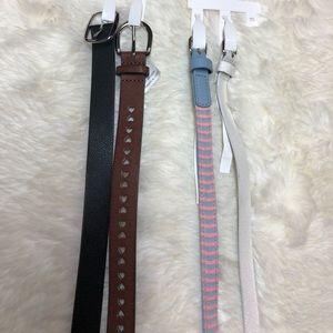 🍁4 Cat & Jack Girls Belts Small